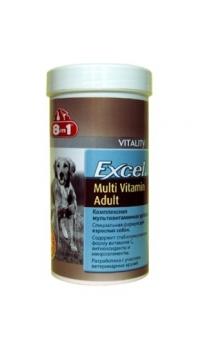 8 в 1 Мультивитамины для взр. соб. (8 in 1 Excel Multi Vitamin Adult)