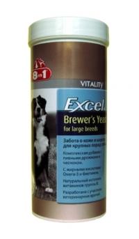 8 в 1 Бреверс Витамины с пивными дрожжами для крупных собак (8 in 1 Excel Brewers Yeast)