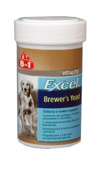 8 в 1 Бреверс Витамины с пивными дрожжами для собак (8 in 1 Excel Brewers Yeast)